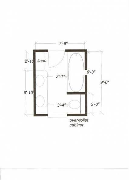 Bath Room Layout 8x8 70 Super Ideas Bathroom Floor Plans