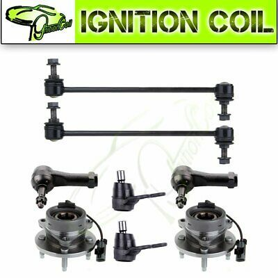 New 8pc Fits Chevrolet Cobalt Sway Bar End Link Wheel Hub Tie Rod End Ball Joint Ebay In 2020 Chevrolet Cobalt Chevrolet Ball And Joint