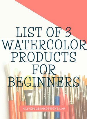 Simple Watercolor Guide For Beginners Supplies Watercolor