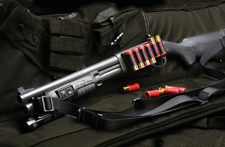 bruitage fusil à pompe