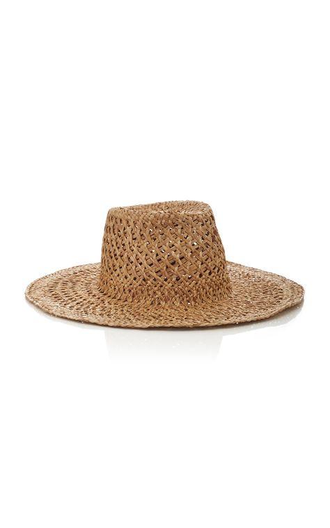 284bb2186 Nana Erba Straw Hat by REINHARD PLANK Now Available on Moda Operandi
