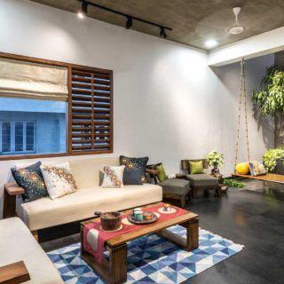 Modern House By Studio Lagom H Cube House Surat Gujarat India Apartment Interior Design India Home Decor Apartment Interior