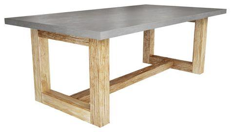 Concrete Table Top Tisch Tisch Selber Bauen Terrassentisch