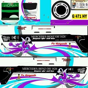 Download Livery Bussid Jernih Shd Keren Terbaru Di 2020 Konsep Mobil Stiker Mobil Pariwisata