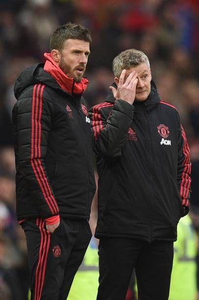 Manchester United S Norwegian Caretaker Manager Ole Gunnar Solskjaer Manchester United Ole Gunnar Solskjaer Manchester
