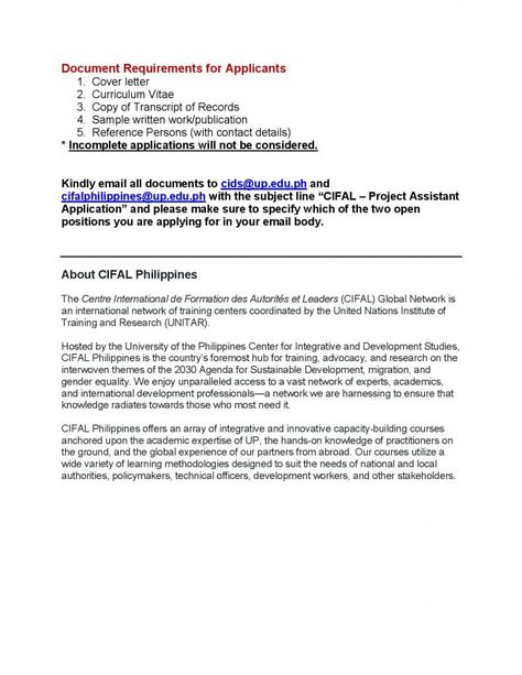 application letter example tagalog job nepali philippines for - sample research agenda