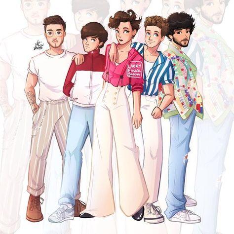Arte One Direction, One Direction Fan Art, One Direction Drawings, One Direction Cartoons, One Direction Images, One Direction Wallpaper, Direction Quotes, Imprimibles One Direction, Desenhos One Direction