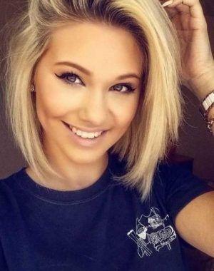 Neue Frisurentrends Trendfrisuren Frisuren Glatte Haare Halblang