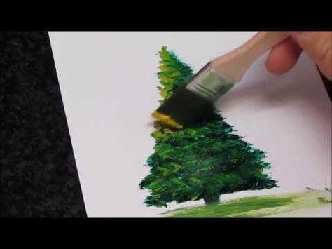 Como Pintar Un Arbol Al Oleo Youtube Como Pintar En Oleo Como Aprender A Pintar Pintar En Oleo