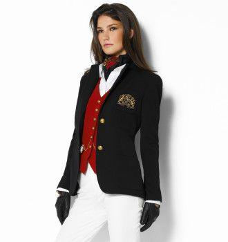 Loving this look with the Ralph Lauren blazer 💖