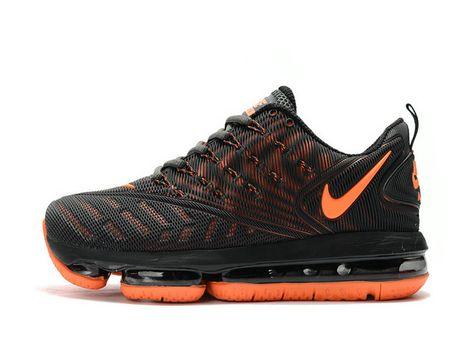 c98da1c7590f Nike Air Vapormax 2018 2019 Light Grey Orange Shoe