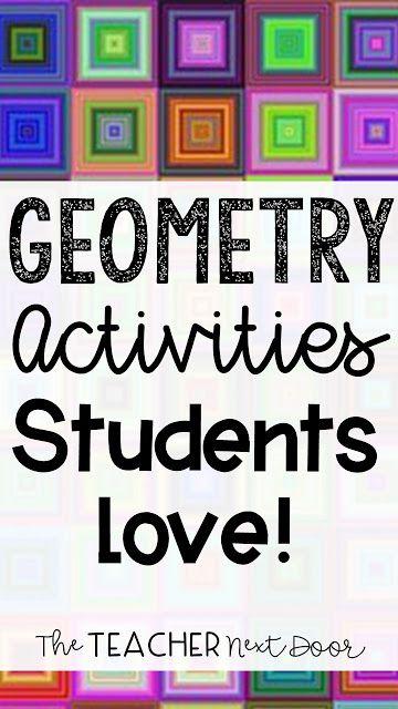 Geometry Activities Students Love!