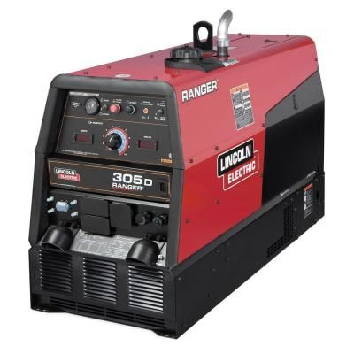 Lincoln Electric 300 Amp Ranger 305 D Diesel Engine Driven Multi Process Dc Welder 10 Kw Peak Generator Kubota Tier 4 Diesel K1727 4