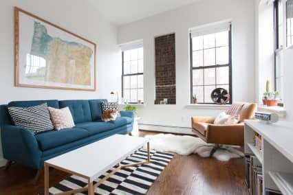 Furniture Placement Ideas For An Awkward Living Room Layout Awkward Living Room Layout Livingroom Layout L Shaped Living Room Layout