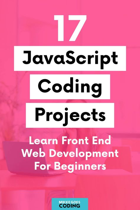 Are you looking for fun JavaScript projects for beginners to practice your coding skills? Use these programming project ideas and tutorials to build your Learn Coding Online, Learn Computer Coding, Computer Lessons, Computer Projects, Learn Programming, Computer Programming, Computer Science, Gaming Computer, Science Web