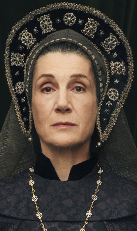 Dame Harriet Walter plays Margaret Beaufort