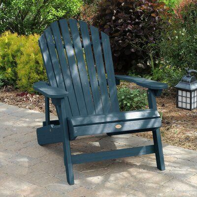 Sol 72 Outdoor Anette Plastic Folding Adirondack Chair Color Nantucket Blue Adirondackch In 2020 With Images Rustic Outdoor Furniture Discount Outdoor Furniture Rustic Furniture