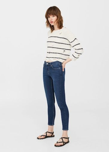 Sale Online 2018 For Woman Mango Latvia Fashion Clothes Skinny Jeans