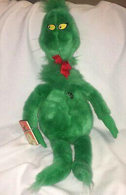 Macys 2020 Christmas Stuffed Animal The Grinch Who Stole Christmas 1997 Limited Edition Macys Plush