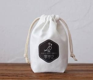 Print Custom Cotton Drawstring Bags