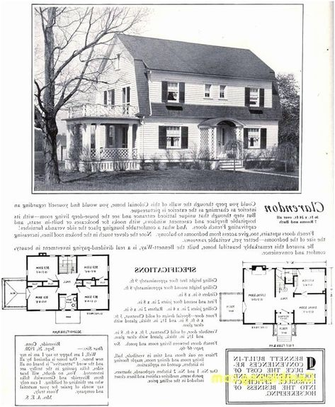 228 Image By Dionne Bell Miller In 2020 Courtyard House Plans Dutch Colonial Homes Cape Cod Style House
