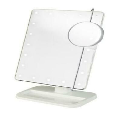 Details About Jerdon Style Led Lighted Makeup Mirror Includes 10x