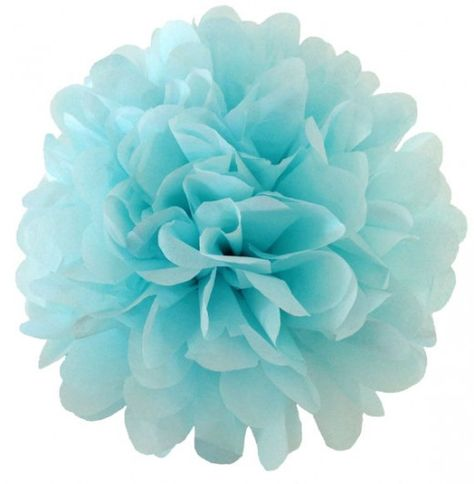 Perfect Pom's for a Frozen Party from TamsCorner!  Featured @ www.partyz.co your party planning search engine!
