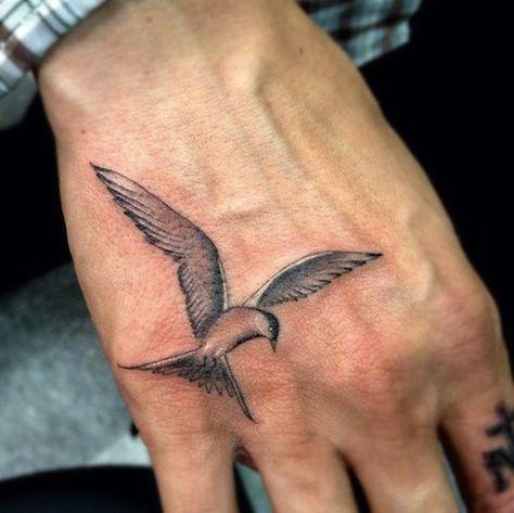 Bird Tattoo For Men Hand Tattoos For Guys Small Tattoos For Guys Bird Tattoo Men