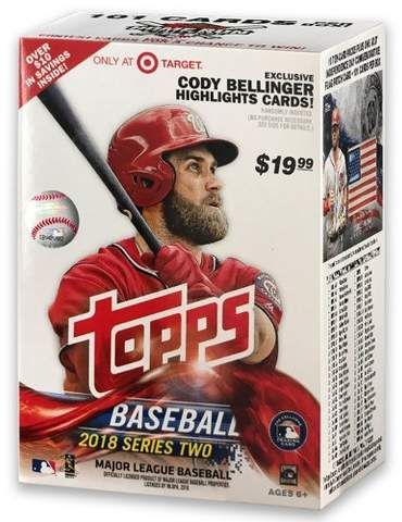 2018 Mlb Baseball Trading Card Topps Baseball S2 Full Box