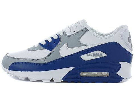 Nike Air Max 90 SI WhiteDrenched BlueGrey Shoes