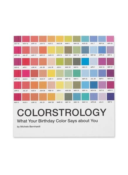 The Bright And Insightful Guide To Birthday Colors Is Back With An All New Cover Inspired By The Iconic Pantone Color Syste It S Your Birthday Color Numerology