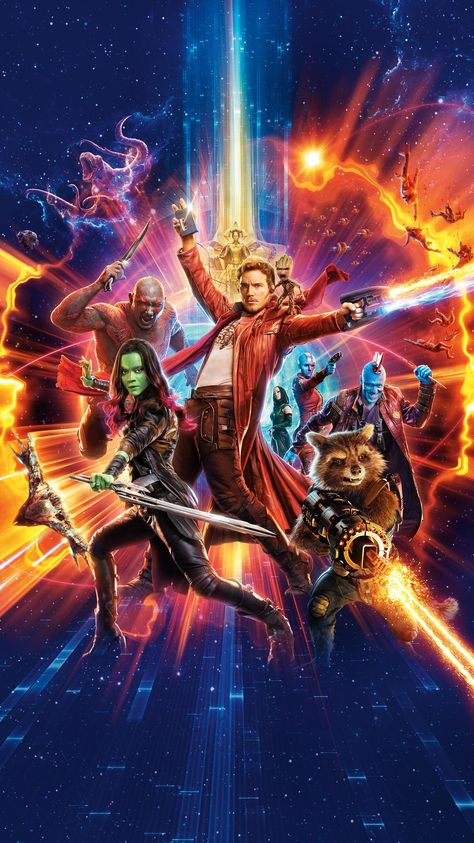 Guardians of the Galaxy Vol. 2 (2017) Phone Wallpaper | Moviemania
