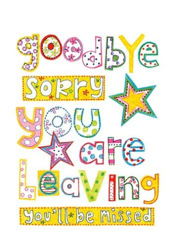 Sorry You Re Leaving Card Template In 2021 Personalized Greeting Cards Cards Leaving Cards