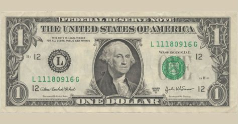 If you have one of these dollar bills it's worth $1000.