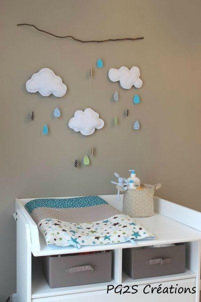 Chambre grise et turquoise pour mon petit gars   Babies, Room and ...