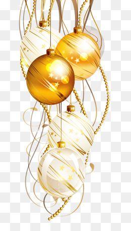 Golden Chain Golden Christmas Ball Yellow Christmas Ball White Christmas Ball Christmas Christmas Decoration Christmas Picture Background Splatter Art Clip Art