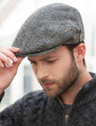 5fd20dd78 Trinity Tweed Flat Cap - Brown in 2019 | Cap | Flat cap, Irish hat ...