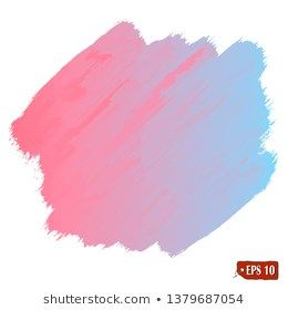 Set Of Colorful Vector Watercolor And Acrylic Brush Strokes