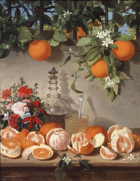 Rafael Romero Barros (Spanish, Still Life of Oranges, x at the Museo de Bellas Artes de Cordoba