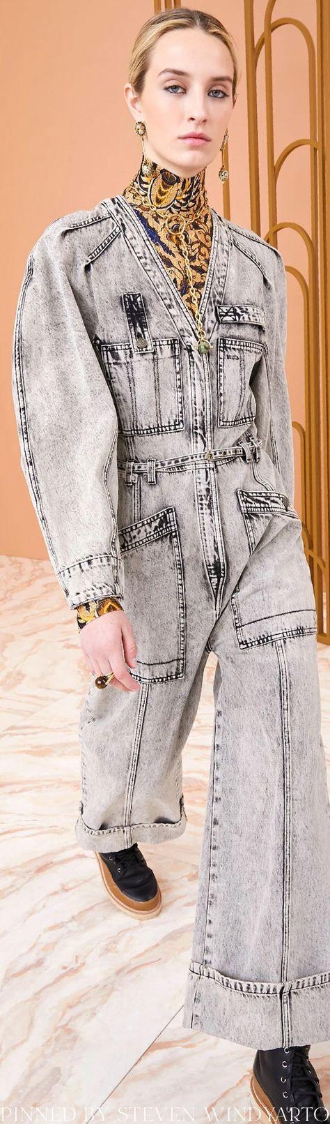 Ulla Johnson Fall 2021 Lookbook - Cameron Jumpsuit #fall2021 #fw21 #womenswear #ullajohnson