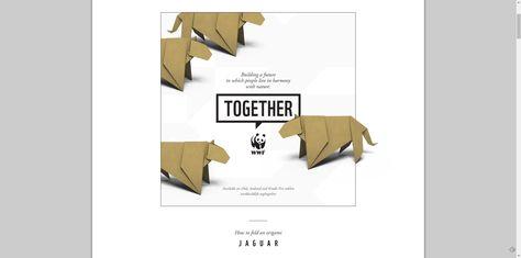 Jaguar/leopard/panther origami