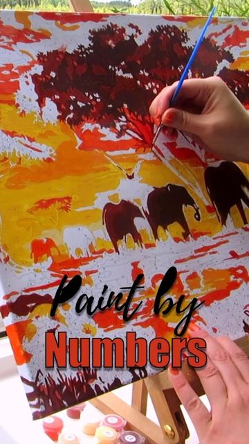 Click Through To Watch Me Complete My First Paint By Numbers