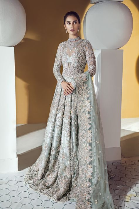 Suffuse by Sana Yasir Bridal and Wedding Dresses with Prices Suffuse by Sana Yasir Embellished Wedding Dress for Pakistani Weddings Source by ankianushree