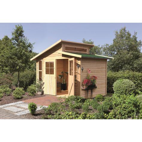 Blockhaus Gartenhaus. Modernen Blockhaus Gartenhaus Pavillon Aus