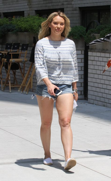 Hilary Duff The face, hair, body language, and body in general are perfect to portray Lydia in the three and me.