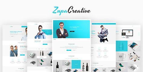 ZupaCreative — Business and Creative Agency Joomla Template | Stylelib