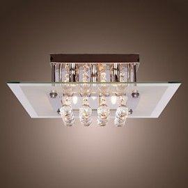 Ceiling Light Modern Crystal Living 5