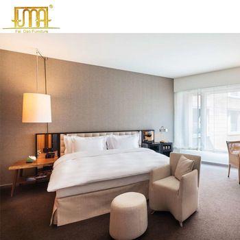 China Furniture Manufacturer Modern 5 Star Hotel Bed Room Suite