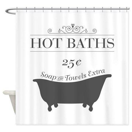 Hot Bath Shower Curtain Ad Affiliate Shower Decorative