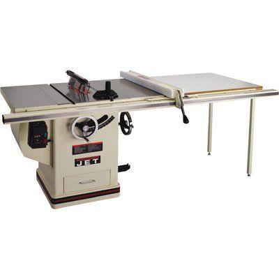 Jet 10 Left Tilt Table Saw W 52 Proshop Fence 708495k New Best Portable Table Saw Table Saw Portable Table Saw